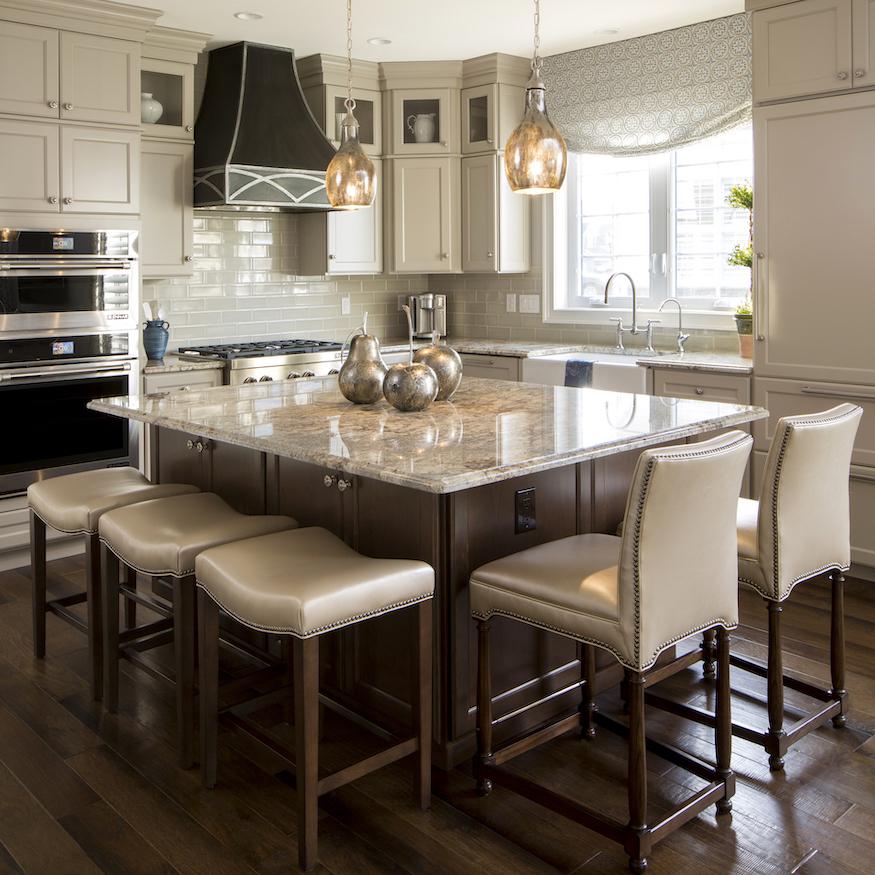 large-square-kitchen-island-barstool-seating