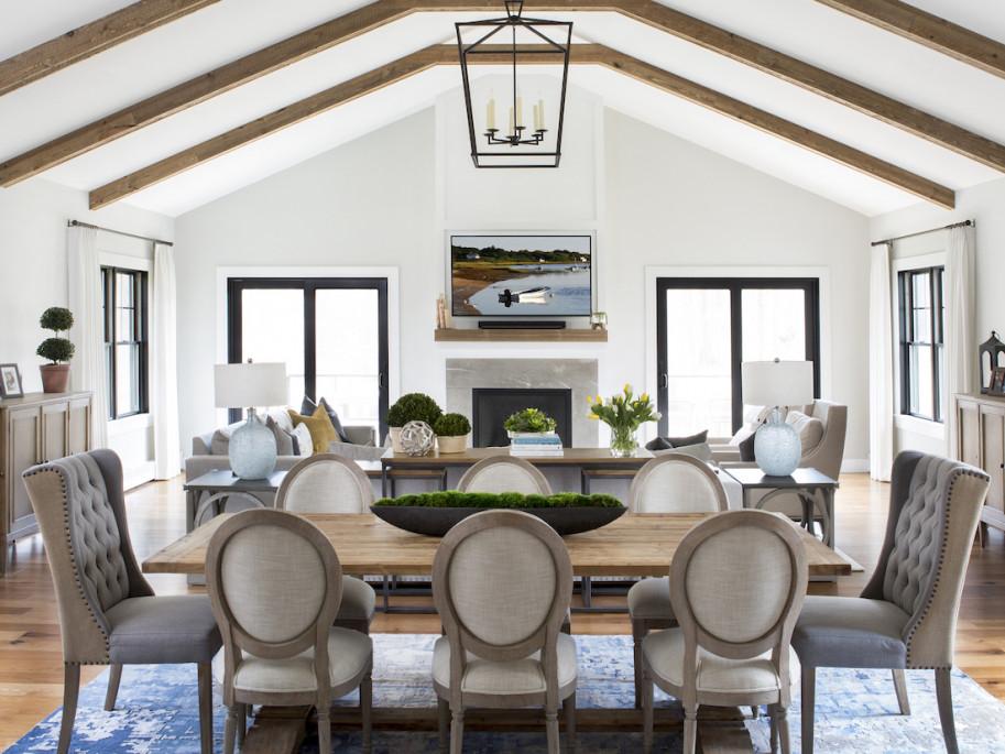 Princeton Nj Dining Room Family Room Interior Design